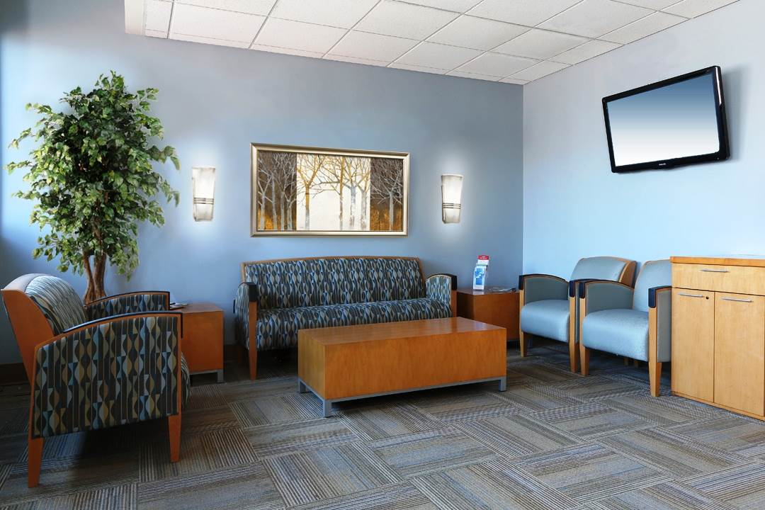 Cardiac Lounge Jersey Shore University Medical Center Neptune NJ Residential Interior Design