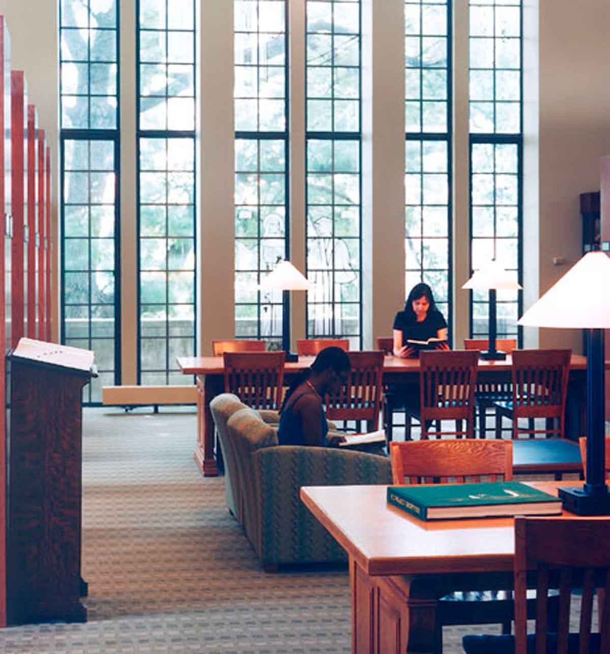 College Of New Rochelle Gill Memorial Library NY Religious Facility Synagogue Interior Design NJ
