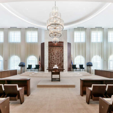 Interior Design - Synagogue